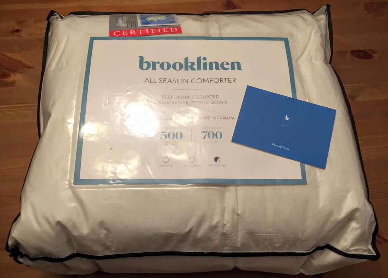 Brooklinen All Season Down Comforter Review 2