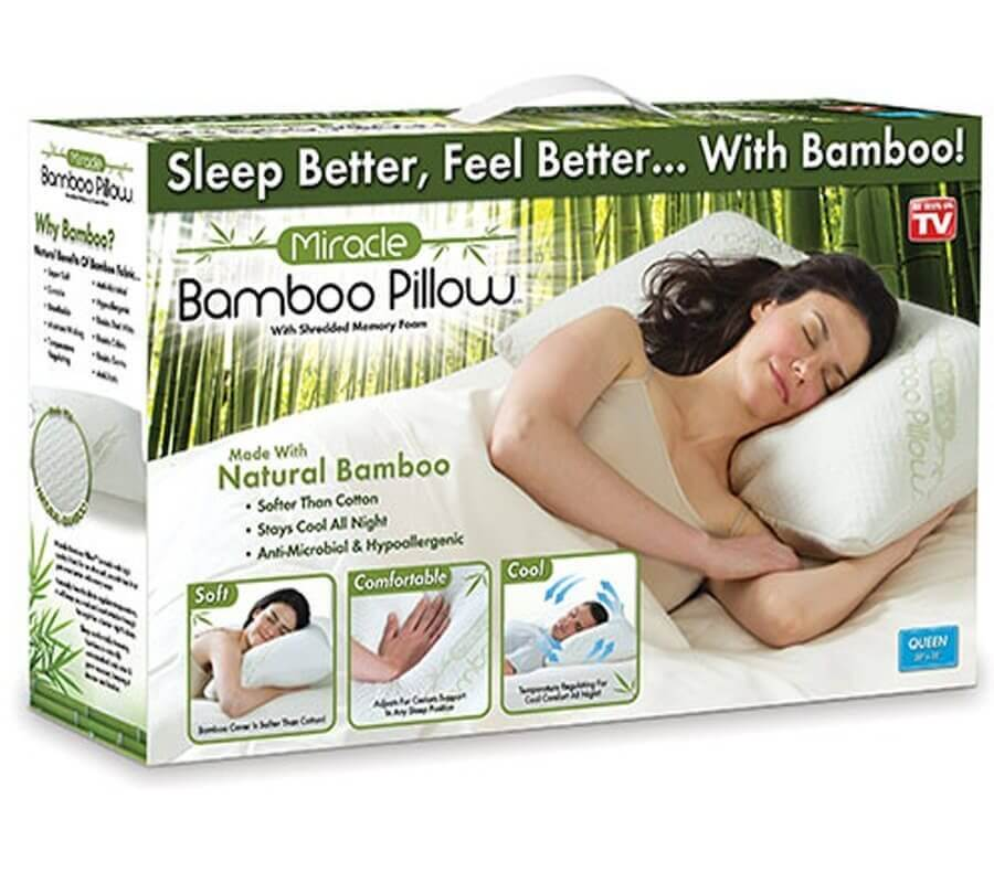 Miracle Bamboo Pillow | Totally NOT worth it 6