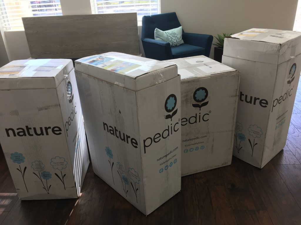 Naturepedic Boxes