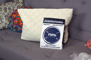 fitme pillow with bamboo case